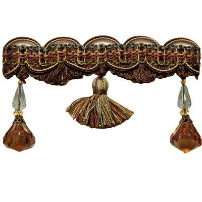 Stout Trim Dewdrop Beaded Trim CHOCOLATE Search Results