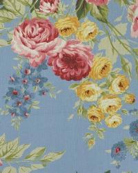 Ralph Lauren Garden Harbor Floral Sky Fabric
