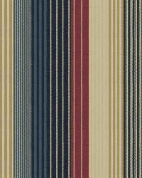 Ralph Lauren Mountain Lake Stripe Blue Fabric
