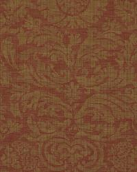 Ralph Lauren Austell Damask Cinnabar Fabric