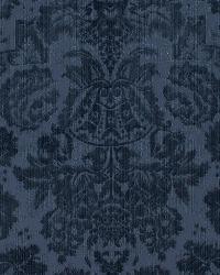 Ralph Lauren Grantham Velvet Dama Navy Fabric