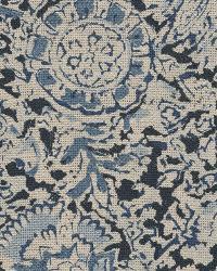 Ralph Lauren Arjuna Floral Indigo Fabric
