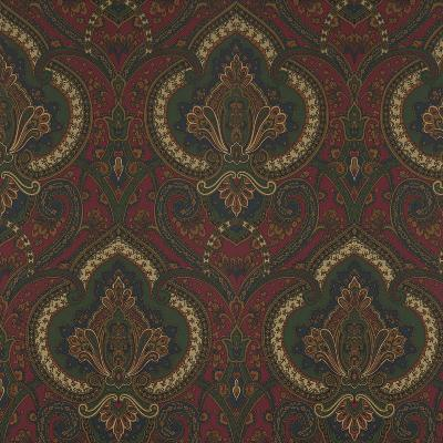 Ralph Lauren Wallpaper CASTLEHEAD PAISLEY CALVARY RED Search Results