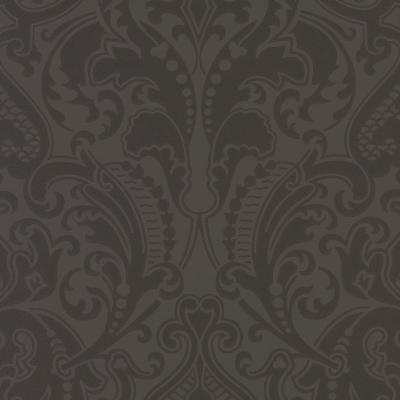 Ralph Lauren Wallpaper GWYNNE DAMASK JET Archival English Papers II