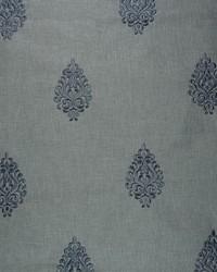 Wesco Lost Medallion Slate Fabric