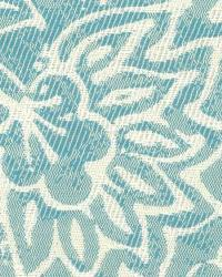 Stout MUSICAL TURQUOISE Fabric