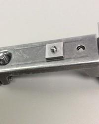 Traverse Rod Center Support Bracket - Nickel by