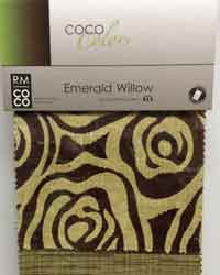 Emerald Willow RM Coco Fabric