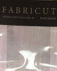 Sheer Essentials Vol III Fabricut Fabrics