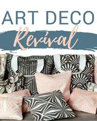 Art Deco Revival Premier Prints Fabric