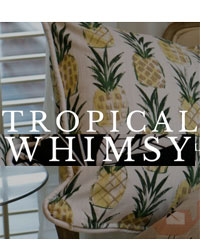 Tropical Whimsy Premier Prints Fabric
