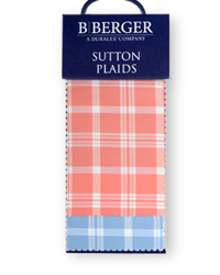 B Berger Sutton Plaids B Berger Fabric