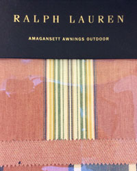 Amagansett Awnings Outdoor Ralph Lauren Fabrics