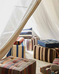 Caravan Stripes Fabric