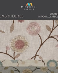 Embroideries Mitchell Fabric