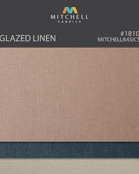 Glazed Linen Mitchell Fabric