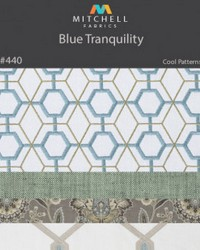 Blue Tranquility Mitchell Fabric