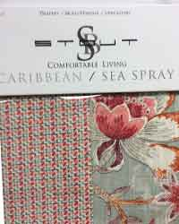 Comfortable Living Caribbean Seaspray Stout Fabric