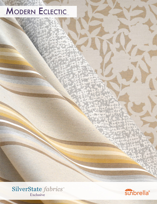 Modern Eclectic Silver State Fabrics