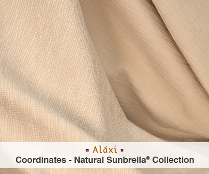 Natural To Cream Silver State Fabrics