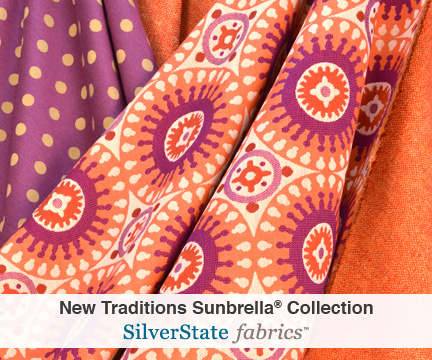 New Traditions Sunbrella Silver State Fabrics