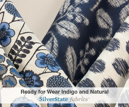 Ready for Wear Indigo Silver State Fabrics