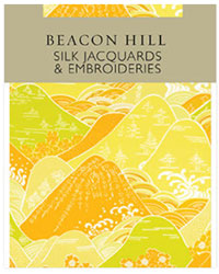 Silk Jacquards And Embroideries I Beacon Hill Fabrics