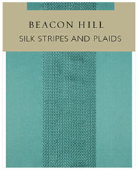 Silk Stripes And Plaids Beacon Hill Fabrics