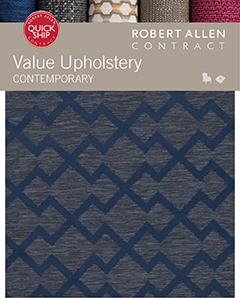 Value Upholstery Contemporary Robert Allen Fabric
