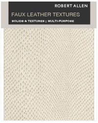 Faux Leather Textures Fabric