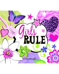 Girls Rule Brewster Wallpaper