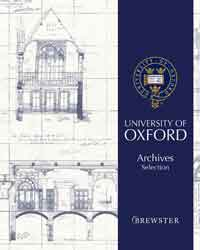 University of Oxford Archives Brewster Wallpaper
