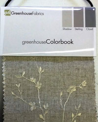 Colorbook Shadow Sterling Cloud Greenhouse Fabrics