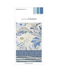 Greenhouse Colorbook Harbor Lapis Blueberry E10 Greenhouse Fabrics