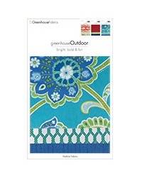 Greenhouse Outdoor Bright Bold And Fun D80 Fabric
