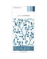 Greenhouse Colorbook Winter Oasis Royal D83 Greenhouse Fabrics