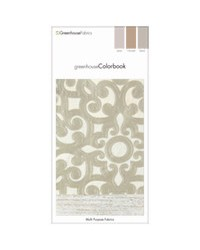 Greenhouse Colorbook Linen Harvest Sand D85 Greenhouse Fabrics