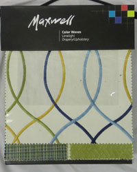 Color Waves Limelight Maxwell Fabrics
