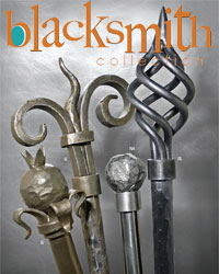 Blacksmith Wrought Iron Curtain Rods