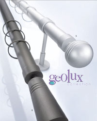 Geolux Outdoor Curtain Rods