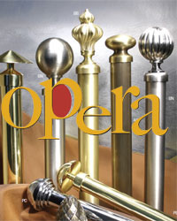 Opera Metal Curtain Rods