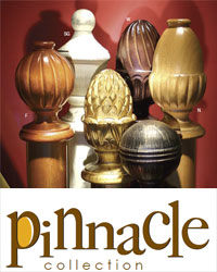 Pinnacle Wood Curtain Rods