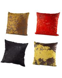 Cowhide and Sheepskin Pillows Bedding