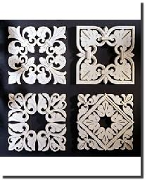 Square Grilles Set by