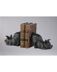 Piggy Bookends 01218 by
