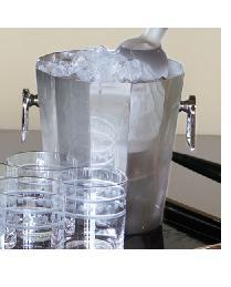 Round Octagonal Ice Bucket by