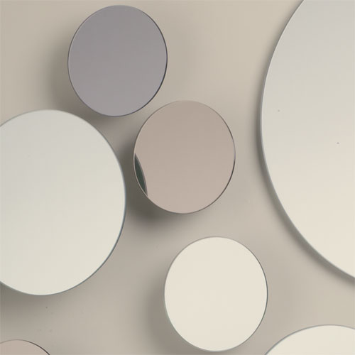 italian discus mirror collection global views interior mall