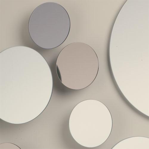 Italian discus mirror collection global views for Espejos circulares para decorar