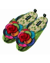Kaleidoscope Green Slipper Womens by