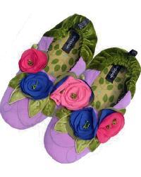 Purple Haze Womens Slipper by